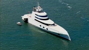 Million Dollar Yacht >> The 300 Million Dollar A Yacht Owned By Russian Billionaire