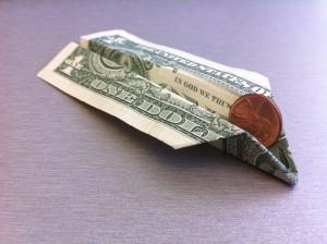 Paper Money Plane
