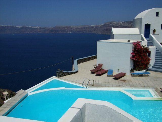 Santorini vacation
