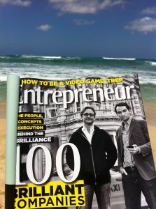Entrepreneur Magazine On Beach