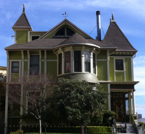 Victorian House in San Fran