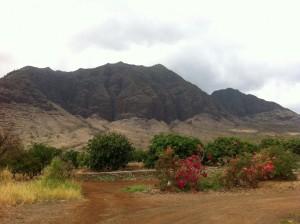 Waianae Hawaii Mountain Range