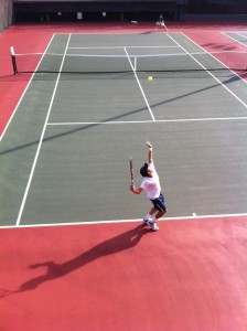 Tennis Battle Serve