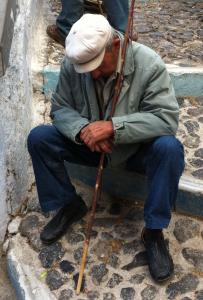 Sleepy Old Man