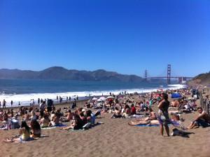 Baker Beach San Francisco Golden Gate Bridge