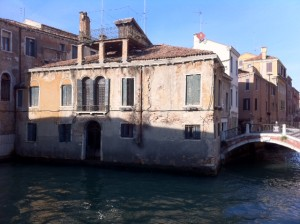 Old Venetian House On The Water