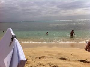 Refinance Documents On The Beach