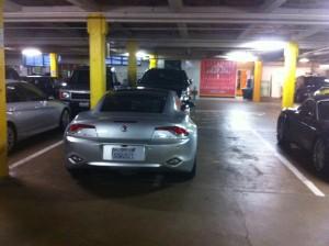 Car Taking Two Parking Spots