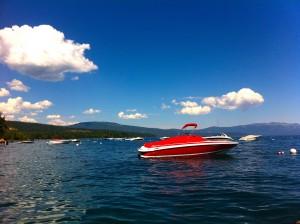 Samurai Boat On Lake Tahoe