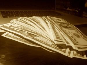 Lots of cash