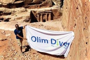 Olim Dives Banner In Jordan