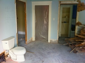 Remodeling after tenant abuse