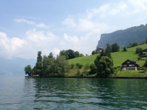 Idyllic House On Lake Lucerne, Switzerland