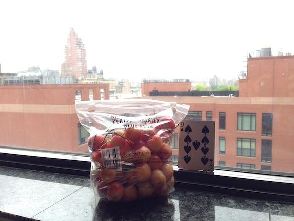 bag of cherries
