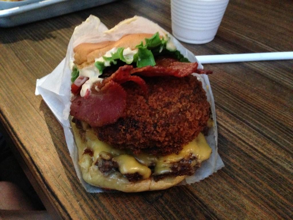 Shackburger at Shake Shak for $8.85.