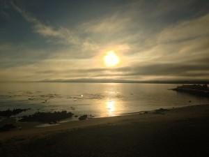 Early sun in Monterrey, California