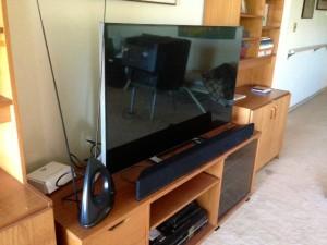 "New 50"" LED SmartTV"