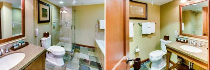 The Resort At Squaw Creek, Lake Tahoe Bathrooms