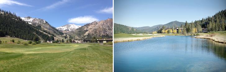 Golf and Hiking, Squaw, Lake Tahoe
