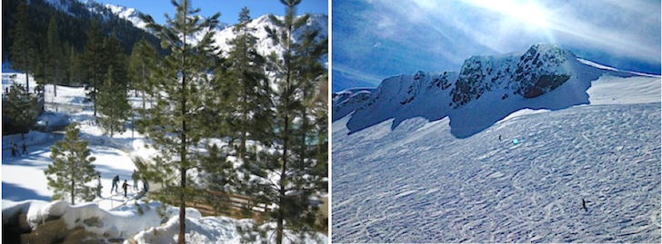 Winter at The Resort At Squaw Creek, Lake Tahoe
