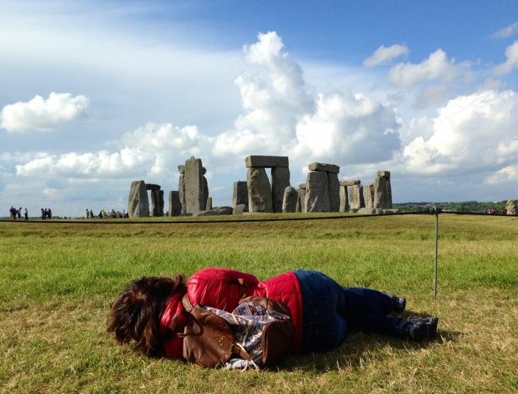 Stonehenge Sideways View