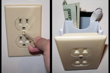 Secret Power Outlet