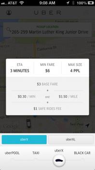 UberX Dashboard