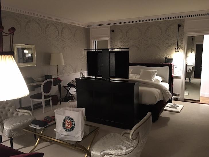 La Reserve Hotel Paris, junior executive suite for about $2,000/night
