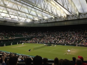 Wimbledon Center Court Roger Federer