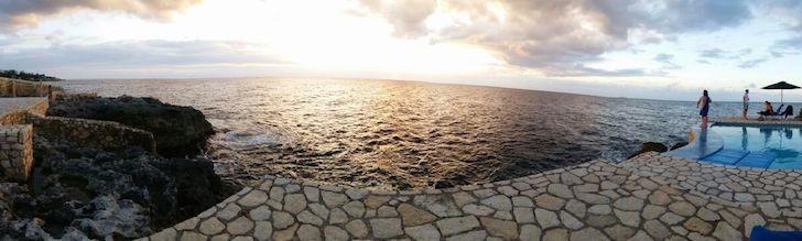 save money for freedom. Jamaica panorama