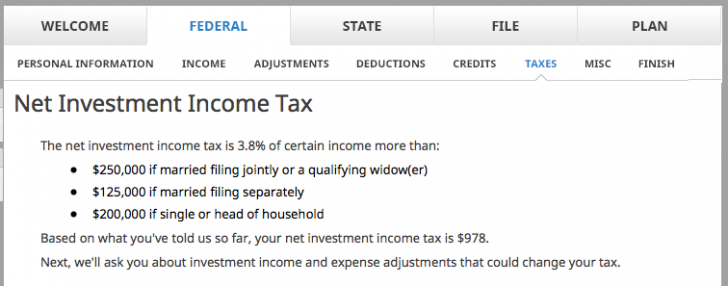 Net Investment Income Tax Rate