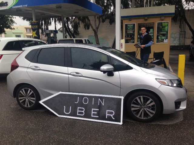 Joining Uber As A Driver With $50 Gas Promo