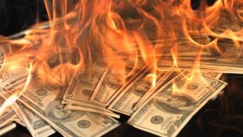 Burning Money On Rent