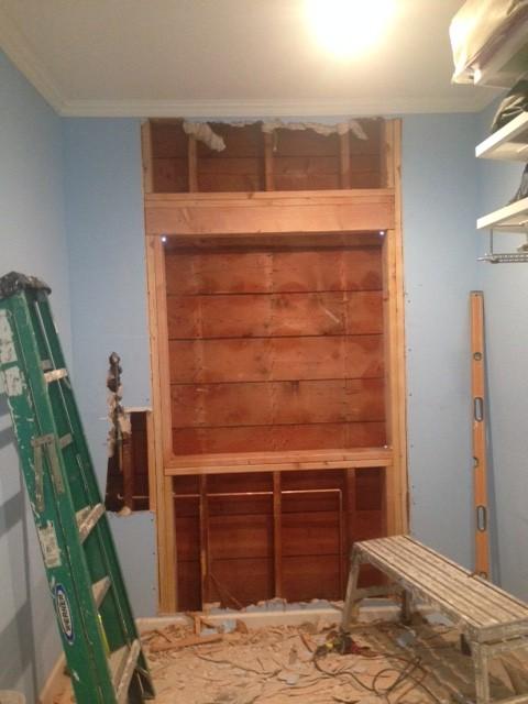 Walk-in Closet frame