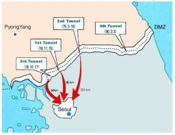 DMZ Tunnels To Invade Seoul