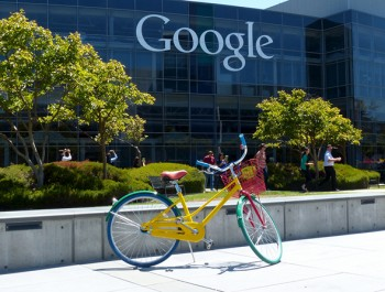 Google bike at Googleplex