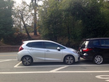 Honda Fit Parking Job