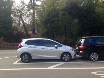 Honda Fit Parking Job