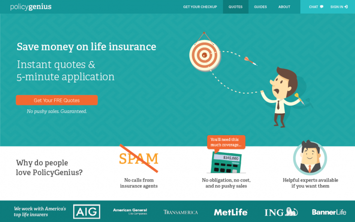 PolicyGenius Save Money On Life Insurance