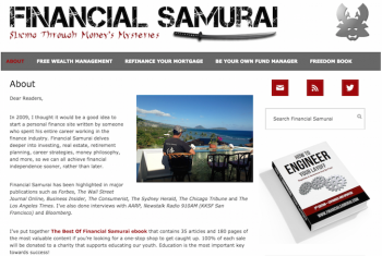 About Financial Samurai
