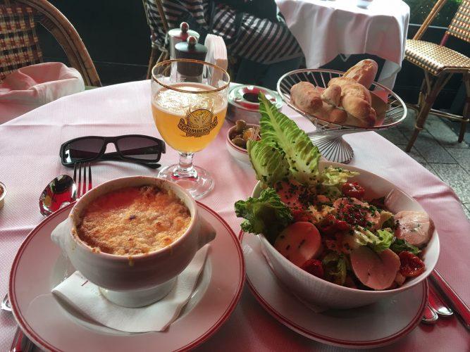 Expensive Parisian Dinner