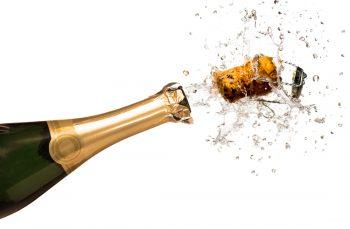 Successful mortgage refinance celebration!