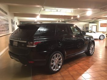 The 2014 Range Rover Sport I found