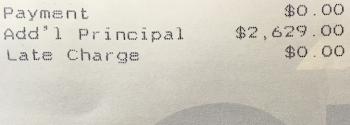 Principal Paydown Financial Samurai
