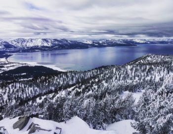 Beautiful Lake Tahoe Winter