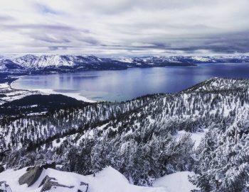 Beautiful Lake Tahoe Winter