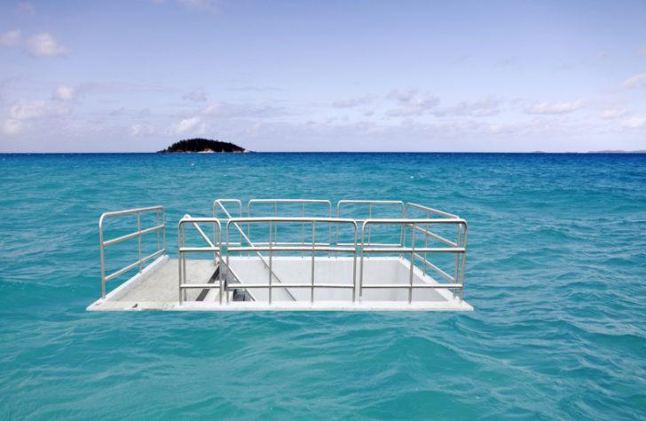 Panic Room in the ocean