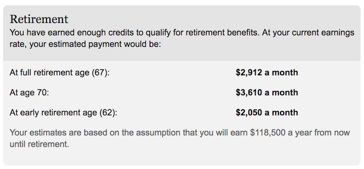 Financial Samurai Social Security Benefits