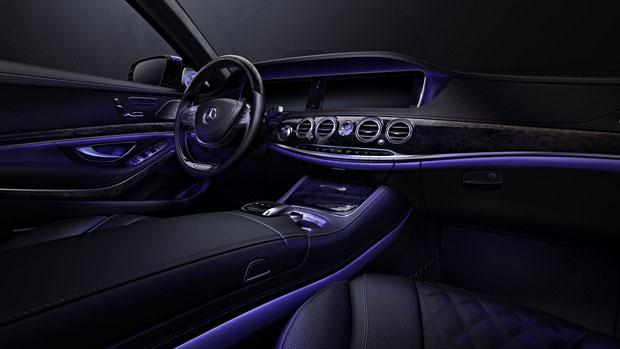 Mercedes S600 Ambient Lighting