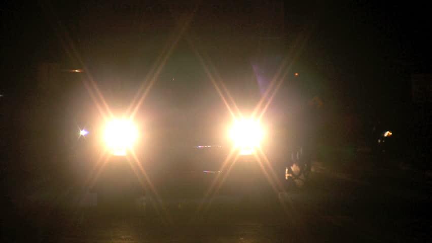 cars headlights at night wallpaper - photo #29